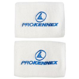 Potítka ProKennex Wristband XL 4´´ White (2 ks)