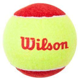 Dětské tenisové míče Wilson Starter Red (3ks) - 6-7 let