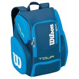Batoh na rakety Wilson Tour V Backpack Blue