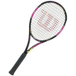 Tenisová raketa Wilson Burn 100 LS Pink