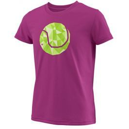 Dívčí tričko Wilson Tech Tee Berry