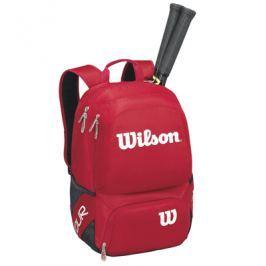 Batoh na rakety Wilson Tour V Backpack Medium Red/White