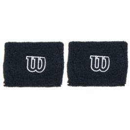 Potítka Wilson Wristband 2.5´´ Black (2 ks)