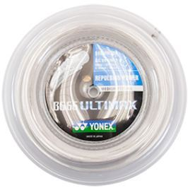 Badmintonový výplet Yonex BG 66 Ultimax White (0.65 mm)  - ROLE 200 m