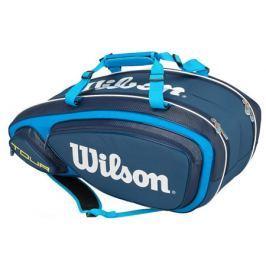 Taška na rakety Wilson Tour V 9 Pack Blue