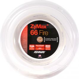 Badmintonový výplet Ashaway ZyMax 66 Fire Power White - ROLE 200 m