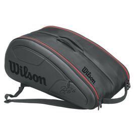 Taška na rakety Wilson Federer DNA 12 Pack Black