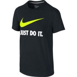 Dětské tričko Nike Just Do It Swoosh Training Black