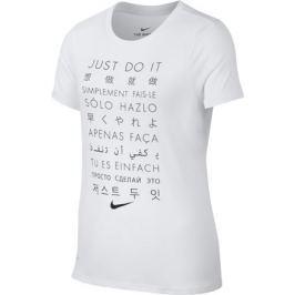 Dětské tričko Nike Dry Training White