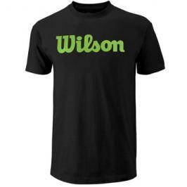 Pánské tričko Wilson Script Black