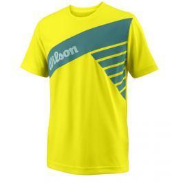 Dětské tričko Wilson Slant Safety Yellow