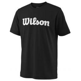 Dětské tričko Wilson Team Script Black