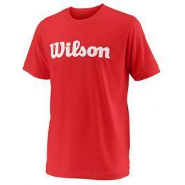 Dětské tričko Wilson Team Script Red