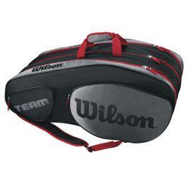 Taška na rakety Wilson Team III 12 Pack Black/Grey