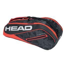 Taška na rakety Head Tour Team Combi 6R Black/Red