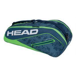 Taška na rakety Head Tour Team Combi 6R Navy/Green