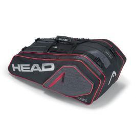 Taška na rakety Head Core Supercombi 9R Black/Silver