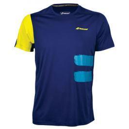 Pánské funkční tričko Babolat Performance Crew Neck Tee Blue
