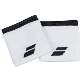 Potítka Babolat Logo Wristband Standard White (2 ks)