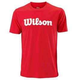 Pánské tričko Wilson Script Red