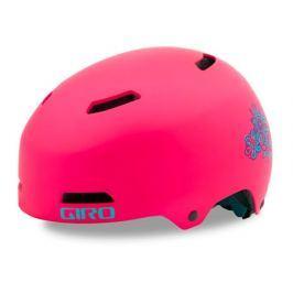 Dětská cyklistická helma GIRO Dime FS matná růžová