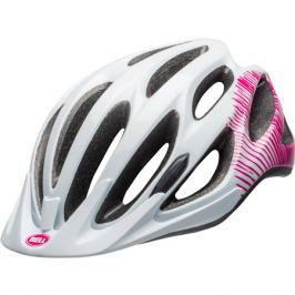 Dámská cyklistická helma BELL Coast lesklá bílá-růžová