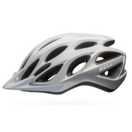 Cyklistická helma BELL Traverse XL bílo-stříbrná 2017