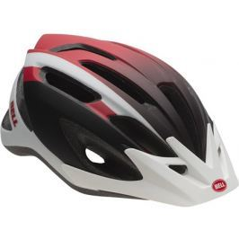 BELL CREST Matt white/red/black 2018