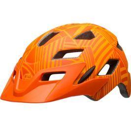 Dětská cyklistická helma BELL Sidetrack Youth oranžová 2017