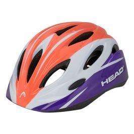 Dětská cyklistická helma Head Kid Y01 bílo-lososová