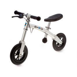 Micro odrážedlo G-Bike+ Light ALU Stříbrné