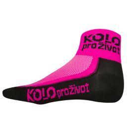 Ponožky růžové KPŽ