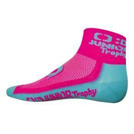 Ponožky růžové Junior Trophy KPŽ