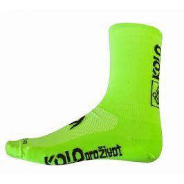 Ponožky zelené dlouhé KPŽ