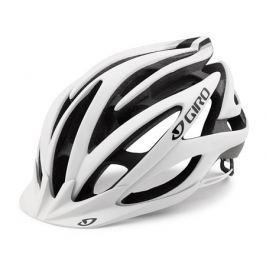 Cyklistická helma GIRO Fathom matná bílá-černá