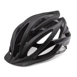 Cyklistická helma GIRO Fathom matná černá-lesklá černá