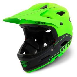 Cyklistická helma GIRO Switchblade MIPS matná limetková-černá