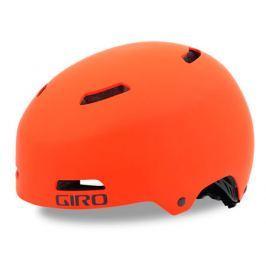 Cyklistická helma GIRO Quarter FS matná oranžová