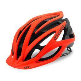 Cyklistická helma GIRO Fathom matná oranžová