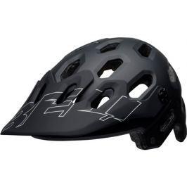 Cyklistická helma BELL Super 3 matná černá