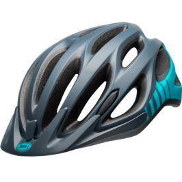 Cyklistická helma BELL Traverse matná šedá/tyrkysová