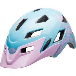 Dětská cyklistická helma BELL Sidetrack Child lesklá lilac flutter