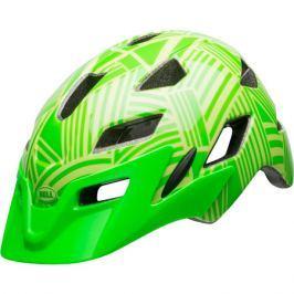 Dětská cyklistická helma BELL Sidetrack Child lesklá zelená kryptonite