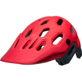 Cyklistická helma BELL Super 3 matná červená