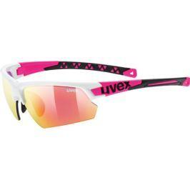 Cyklistické brýle Uvex Sportstyle 224 bílo-růžové