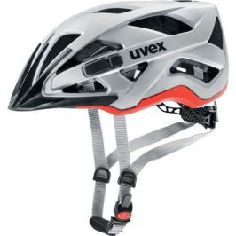 Uvex CITY ACTIVE CC silver-orange Matt 2018