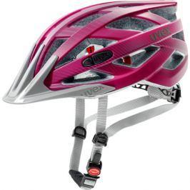 Cyklistická helma Uvex I-VO CC tmavě růžová matná
