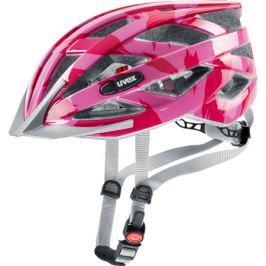 Cyklistická helma Uvex I-VO C tmavě růžová lesklá