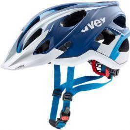 Cyklistická helma Uvex Stivo CC modrá-bílá matná