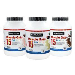 Survival Muscle Gain 15 Fair Power 1,5 kg